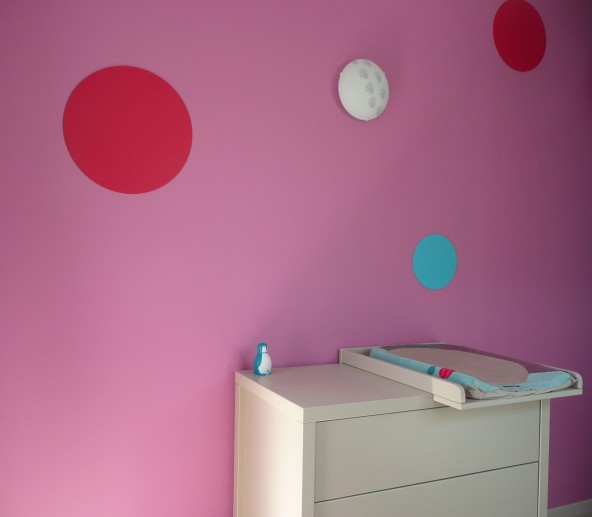 peinture chambre enfant arts en couleurs. Black Bedroom Furniture Sets. Home Design Ideas